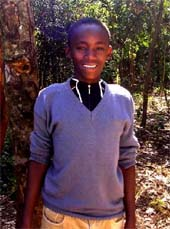 Stephen im Ngong Forest
